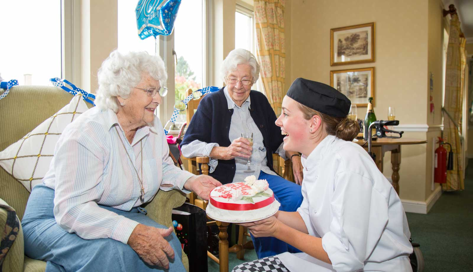 care home burford oxfordshire